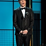 Ed Helms spoke at the Comedy Awards in NYC.