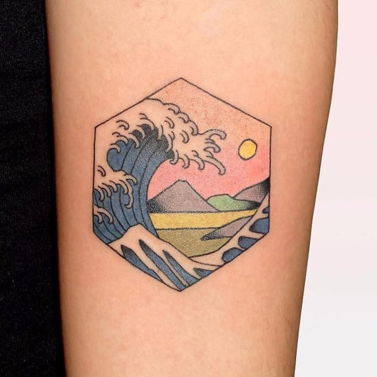 Japanese Woodblock Tattoos
