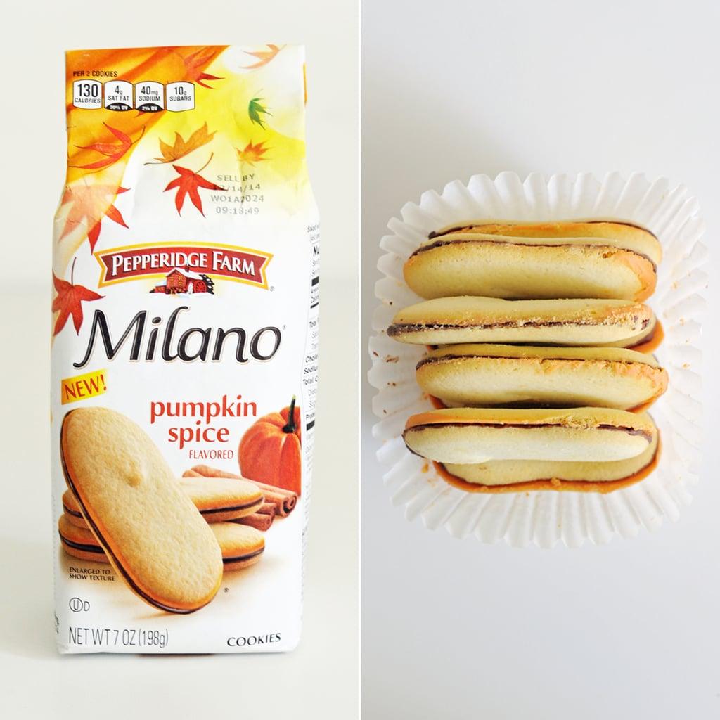 Pumpkin Spice Milano Cookies