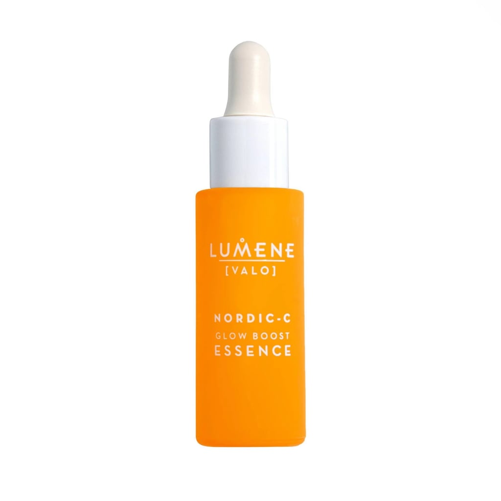 Best For Sensitive Skin: Lumene Valo Glow Boost Essence Serum with Vitamin C & Hyaluronic Acid
