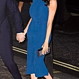 Meghan's Royal Blue Aquazzura Heels