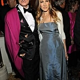 Sarah Jessica Parker posed with Hamish Bowles.