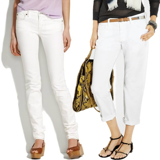 The Best White Jeans For Summer | POPSUGAR Fashion
