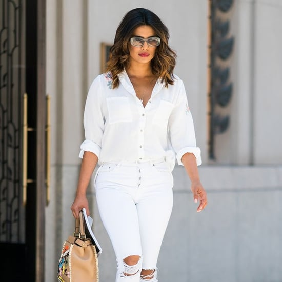 Celebrities Wearing All White