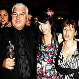 In May 2008, she attended the Ivor Novello Awards with her parents, Mitch and Janis, in London.