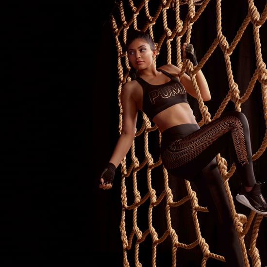 Kylie Jenner Models Puma's Velvet Rope AW17 Collection
