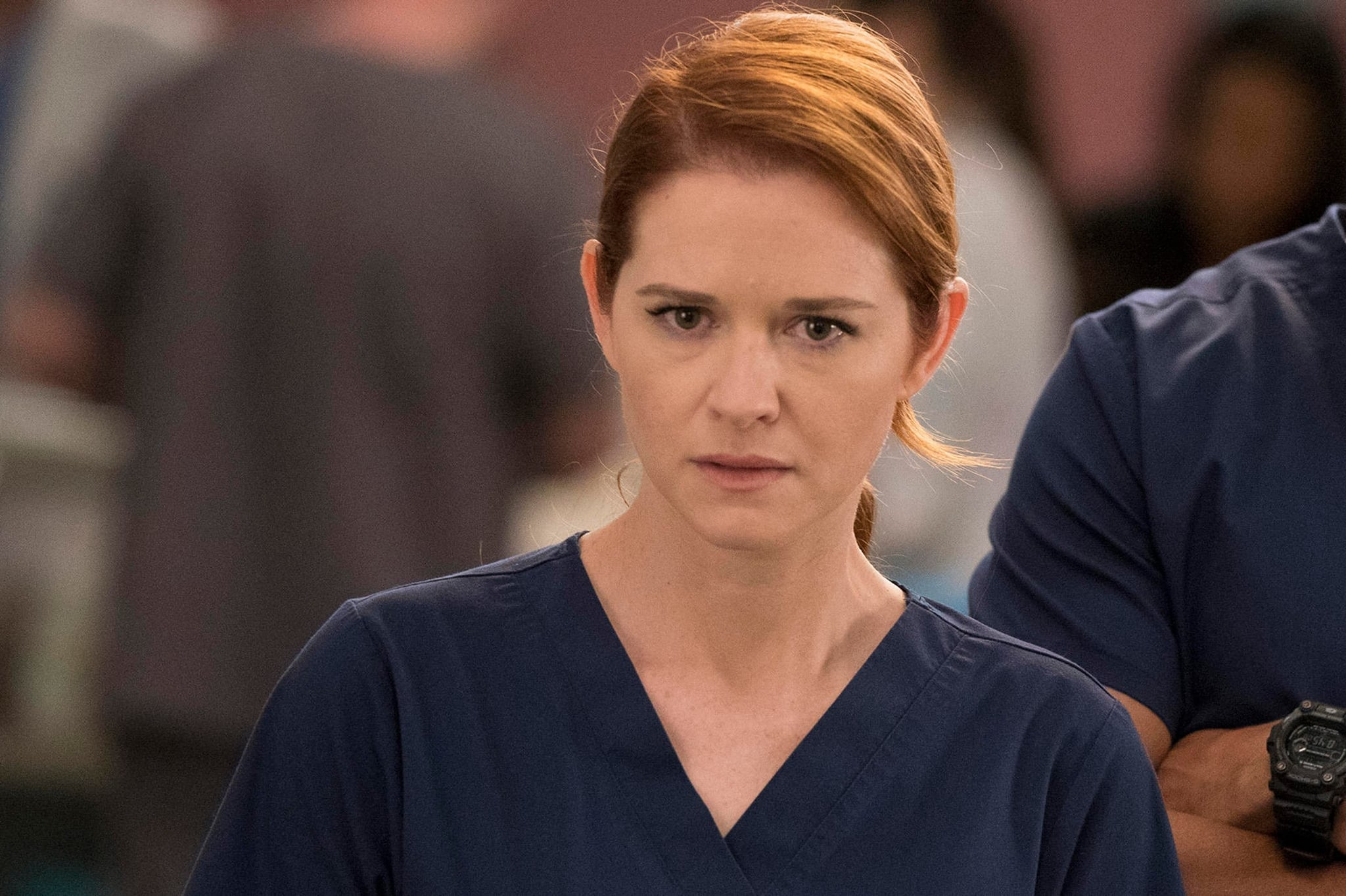 Sarah Drew No Longer Watches Grey\'s Anatomy | POPSUGAR Entertainment
