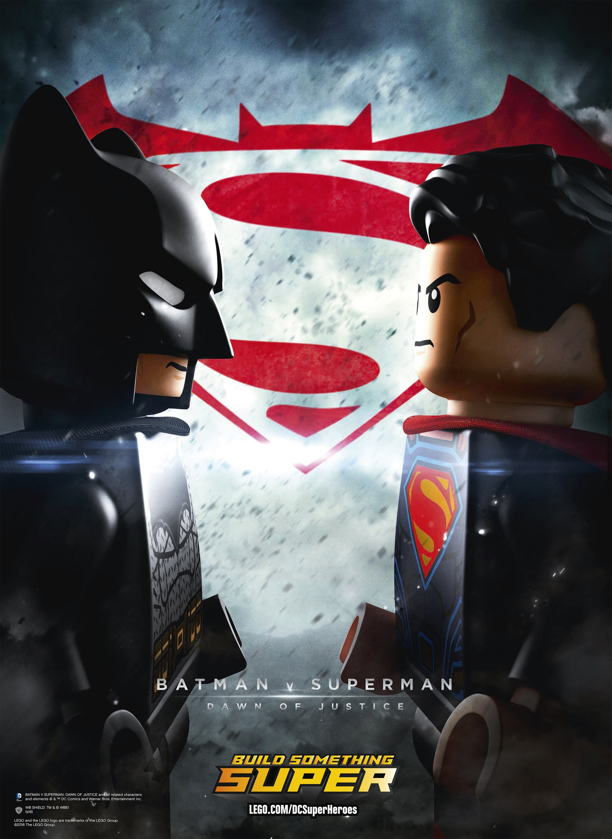 In Anticipation Of The Lego Batman Movie Toy Company Made Over DCs Superhero Blockbuster V Superman Dawn Justice