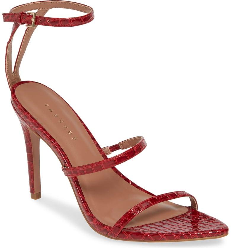 Topshop Ankle Strap Sandals