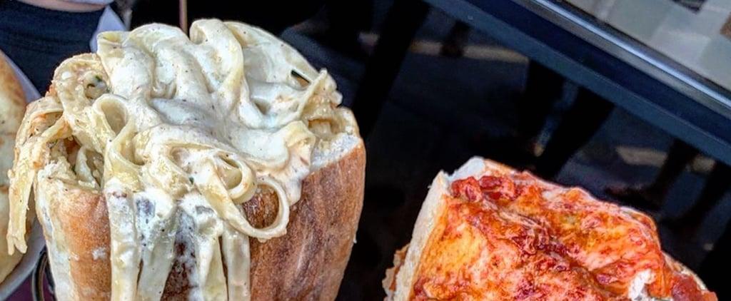 Pasta-Stuffed Sandwiches at Amano Las Vegas