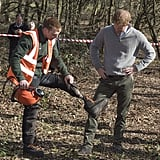 Prince Harry in Epping Forest Photos March 2017