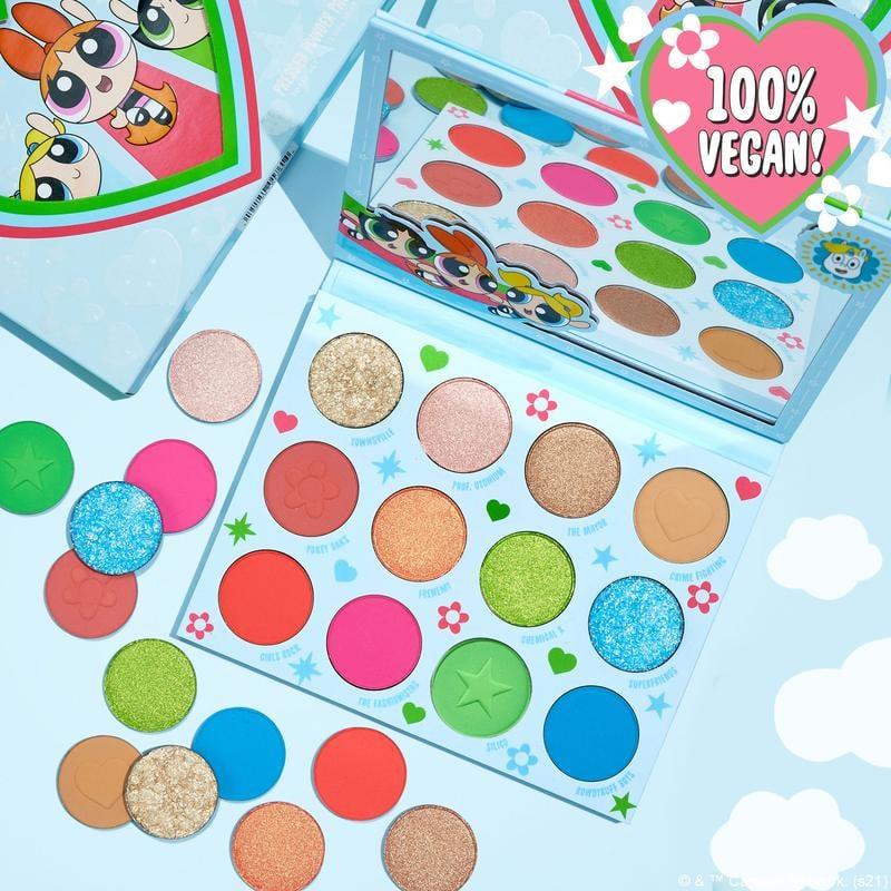 ColourPop x Powerpuff Girls Pressed Powder Palette