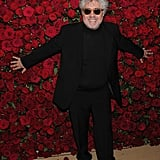 Pedro Almodovar was honored at the Museum of Modern Art's 2011 Film Benefit.