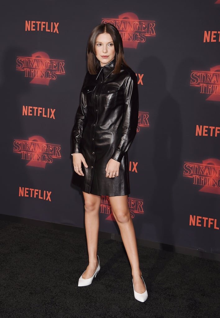 Millie Bobby Brown at Stranger Things Season 2 Premiere