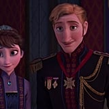 A particularly wild theory about the new characters' identity we can't shake is, what if the kids are people from Arendelle's past? Specifically, their late king and queen? Before you click away, just hear us out! What if we discover that Elsa's powers are genetic (as mentioned previously) and this scene is a flashback to her parents as children when they were able to play about freely. The two look enough like their parents, albeit younger, and it would explain their clothing. The young man could be their father, a royal, and their mother could have been someone of more common origin. We're just saying, there are so many possibilities, we can't rule it out!