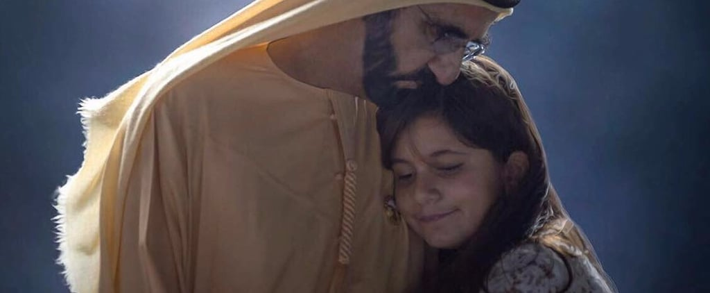 Sheikh Hamdan Snaps Family Photo Of Sheikh Mo and Al Jalila