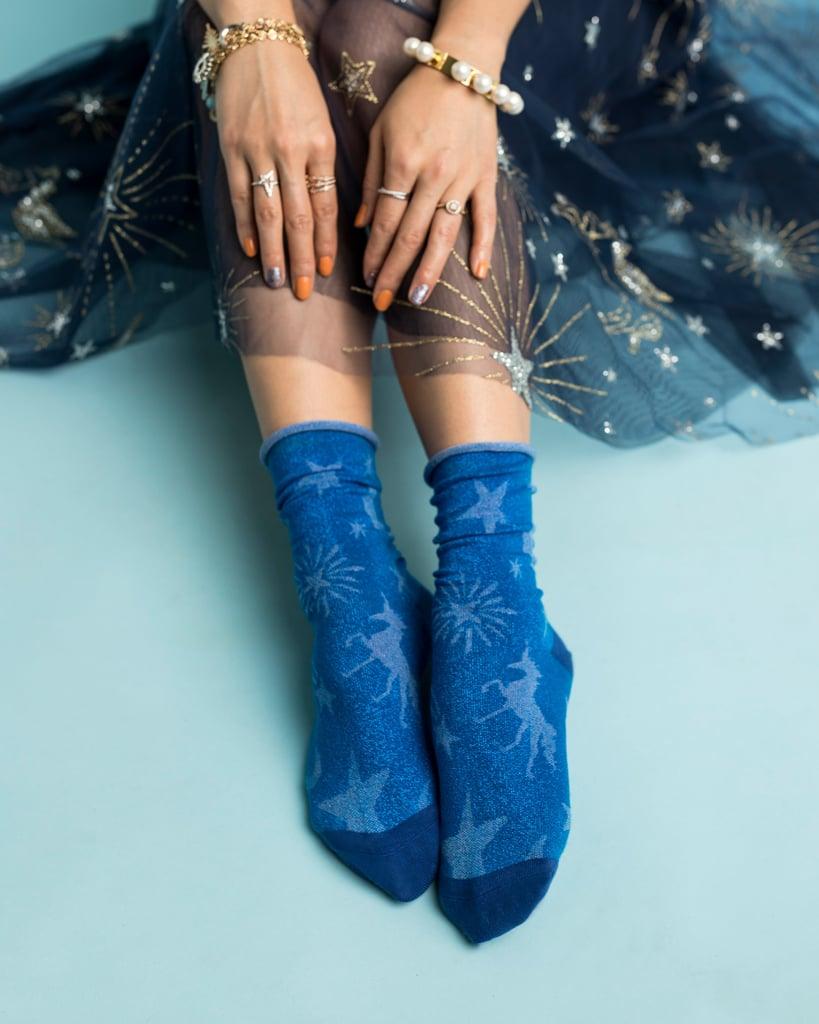 Sock Candy Celestial Shimmer Crew Socks