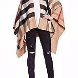 Burberry Charlotte Reversible Poncho