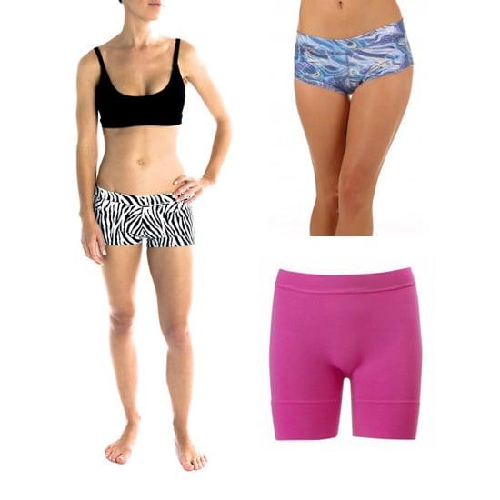 Shorts In Turquoise For Bikram Yoga: POPSUGAR Fitness Australia