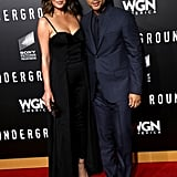 Chrissy and John struck a sexy pose at the season two premiere of Underground in LA in February 2017.