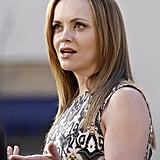 Christina Ricci Debuts Her Engagement Ring!