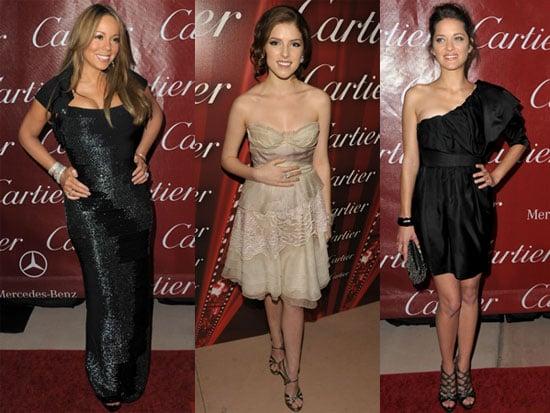 Photos of Mariah Carey, Anna Kendrick, Morgan Freeman, Sean Penn and More at Palm Springs Film Festival
