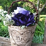 Rustic Birch Basket