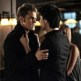 Paul Wesley as Stefan and Ian Somerhalder as Damon in The Vampire Diaries. Photo courtesy of The CW