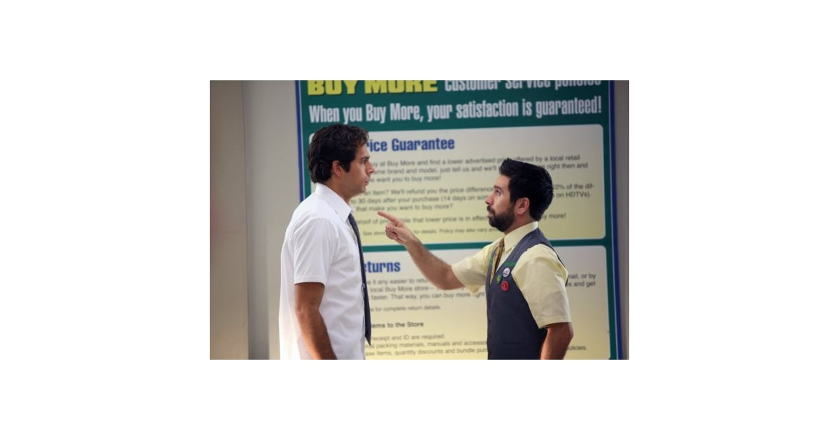 Interview With Zachary Levi And Joshua Gomez About Upcoming Episodes Of Chuck Popsugar Entertainment Look at everybody from friends. popsugar