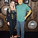 Kelsey Grammer and Kayte Walsh as Sideshow Bob and a Cow