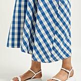 Jil Sander Leather Flatform Sandals