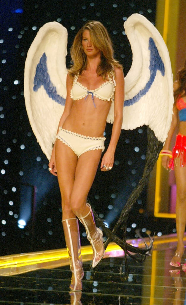 Gisele Bündchen's on the 2002 Victoria's Secret Fashion Show Runway in New York