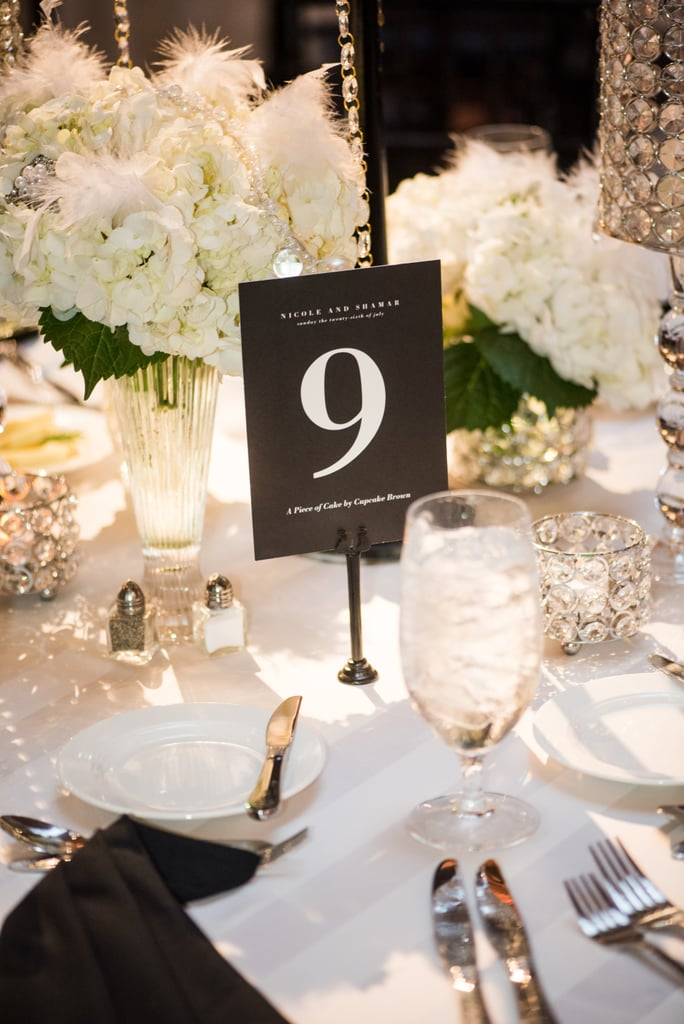 Simple baubles as tablescape details are a chic way to emphasize your love of shine.