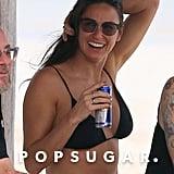 Demi drank a Red Bull.