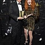 Fred Armisen and Natasha Lyonne at Netflix's Emmys Afterparty