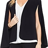 Vince Camuto Milano Twill Cape Jacket