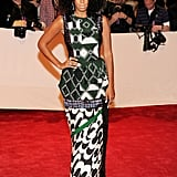 Solange Knowles Wearing Dries Van Noten in 2011