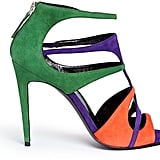 Pierre Hardy Colourblock suede caged sandals ($1,035)