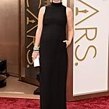 Olivia Wilde and Jason Sudeikis at 2014 Oscars