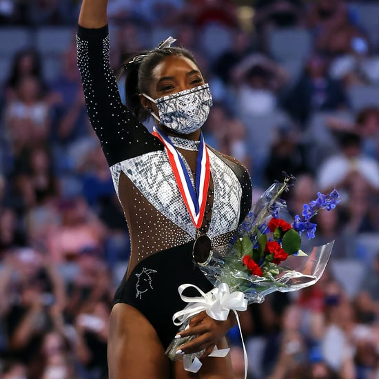 Simone Biles Goat Leotard, 2021 US Gymnastics Championships