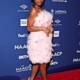 Marsai Martin's Pamella Roland Dress at NAACP Image Awards
