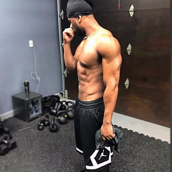 Michael B. Jordan Shirtless Instagram Photo January 2017