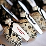 Make your wedding favors double as place cards!