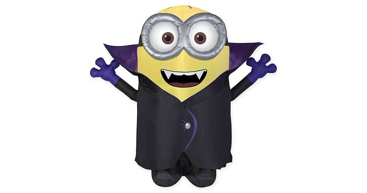 Inflatable Gone Batty Minion Outdoor Halloween Decoration Best Bed Bath And Beyond Halloween Decor Popsugar Home Uk Photo 15