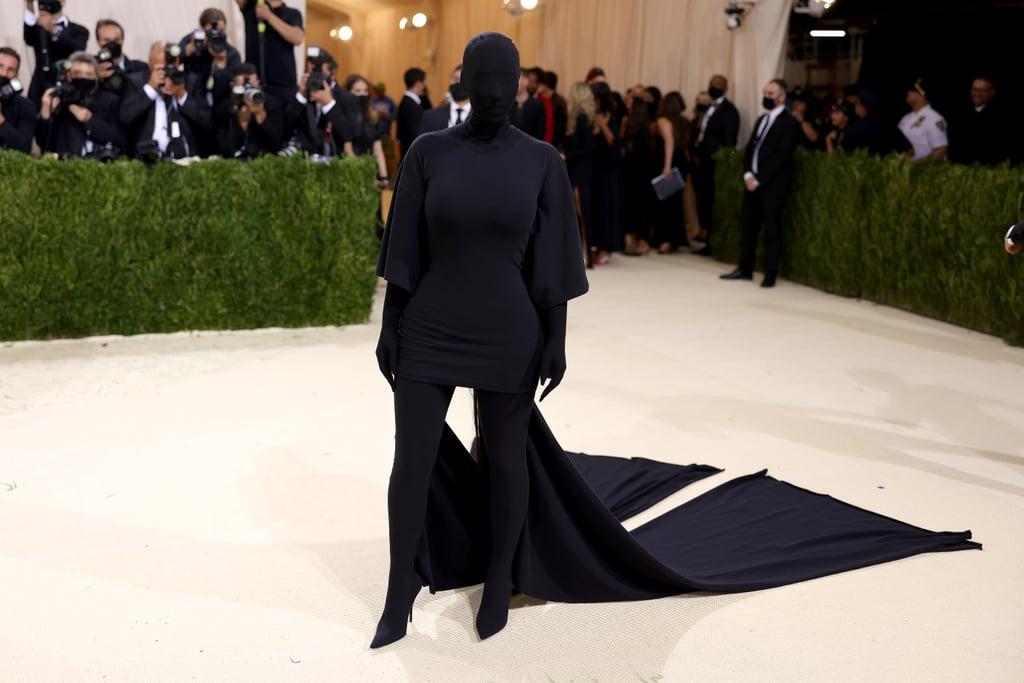Kim Kardashian at the 2021 Met Gala