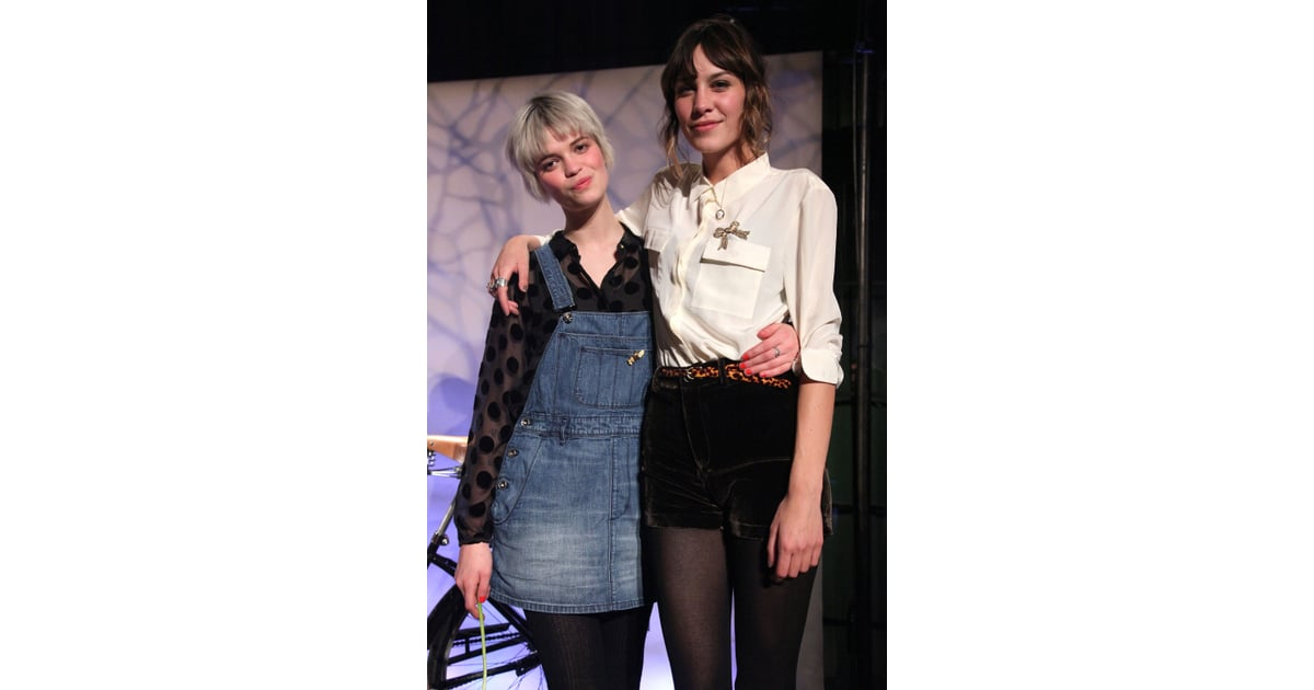 Alexa Chung Debuts Her Madewell Collection For Fall 2010 Fashion Week Popsugar Fashion Australia