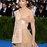 Gigi Hadid Hits a Style Home Run in Her Asymmetrical Met Gala Dress