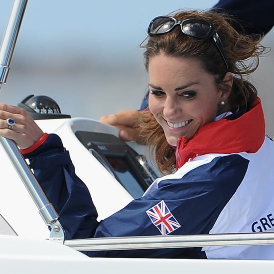 Kate Middleton Cheering at Olympics (Video)