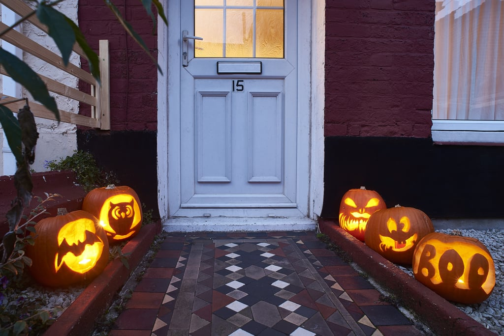 Pumpkin Pathway Zoom Background
