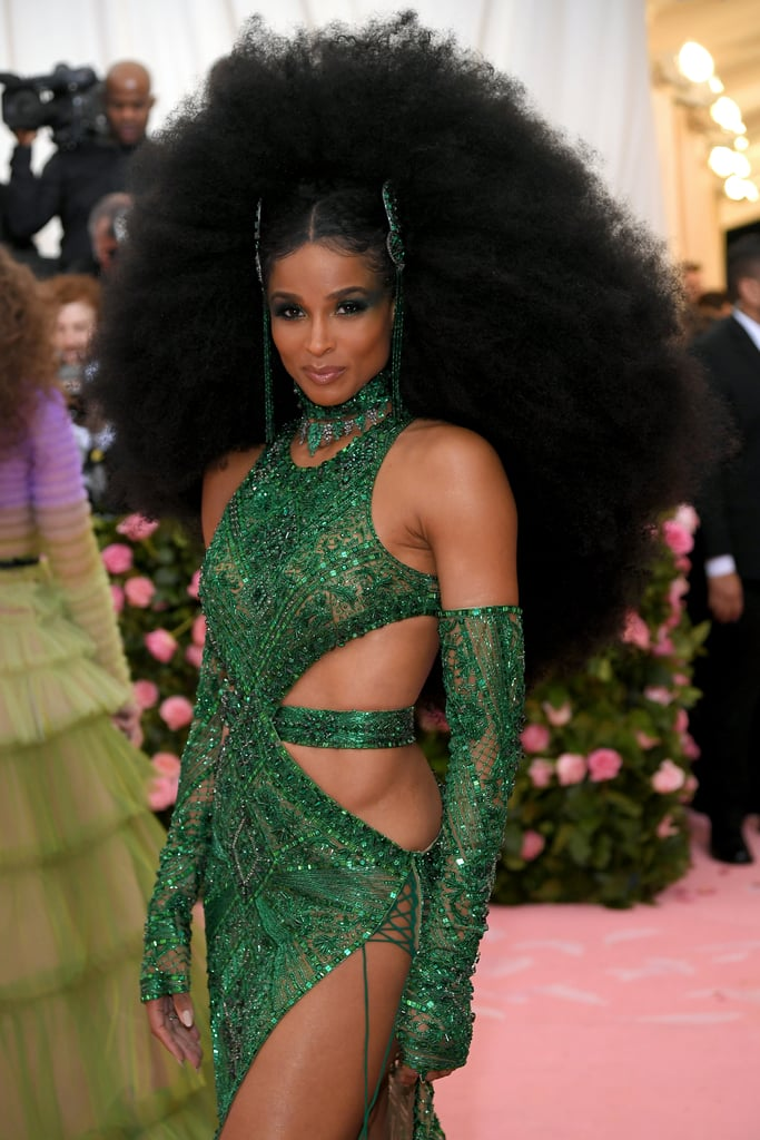 Ciara's Hair at the 2019 Met Gala